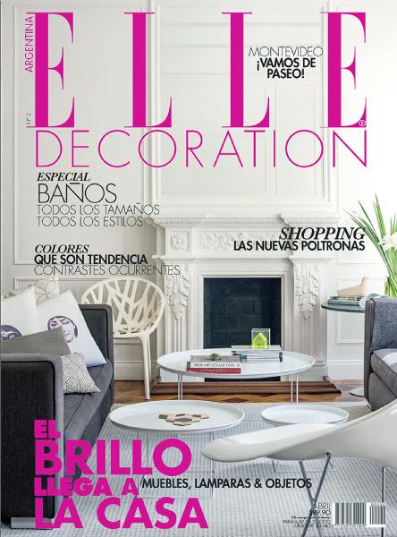 Revista Elle Decoration - El jardín secreto